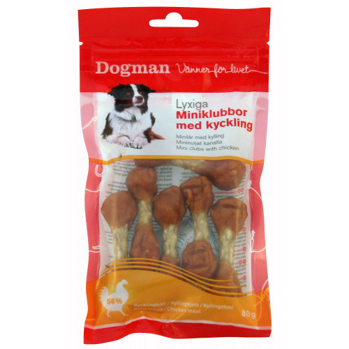 DOGMAN Miniklubbor (12-pack)