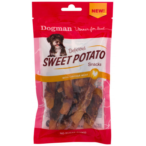 DOGMAN Sweet potato snacks (12-pack)
