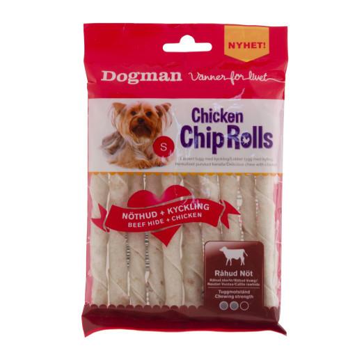 DOGMAN Chicken Chip Rolls 10-p (8-pack)