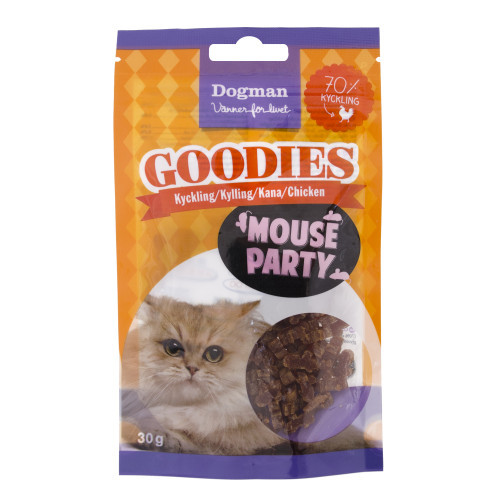 DOGMAN Goodies Mouse party (8-pack)