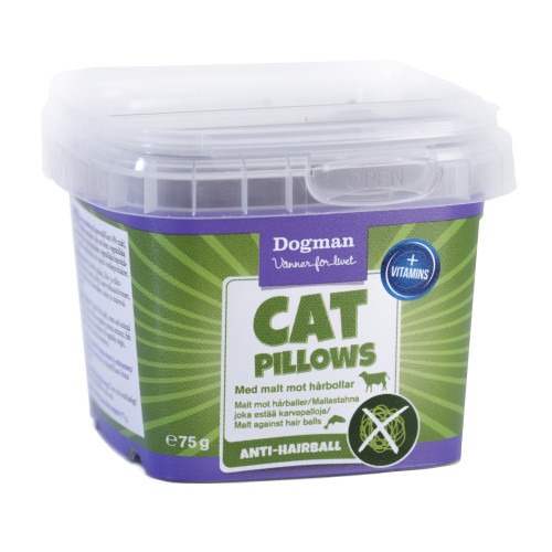 DOGMAN Cat Pillows anti-hårboll (6-pack)