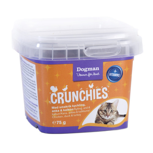 DOGMAN Crunchies fågel (6-pack)