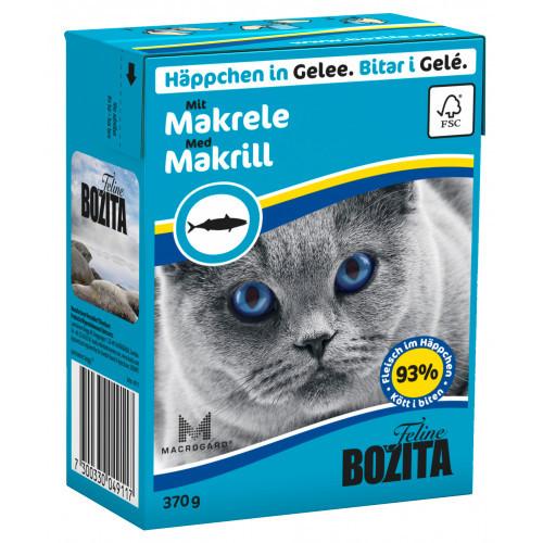 BOZITA FELINE Bitar i Gele med Makrill (16-pack)