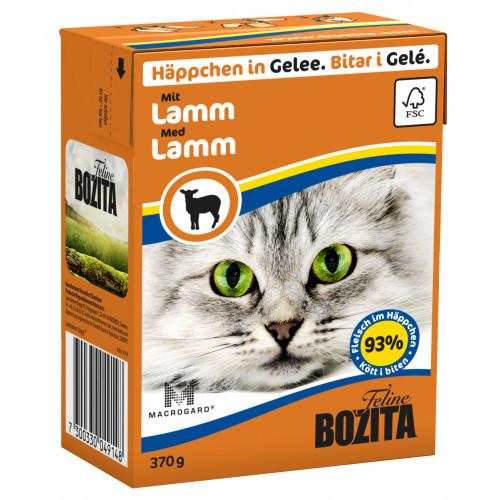 BOZITA FELINE Bitar i Gelé med Lamm (16-pack)