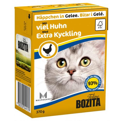 BOZITA FELINE Bitar i Gelé Rik på Kyckling (16-pack)