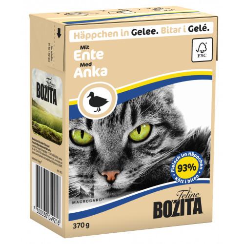 BOZITA FELINE Bitar i Gele med Anka (16-pack)
