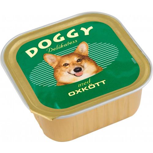 DOGGY Delikatess Oxkött (11-pack)