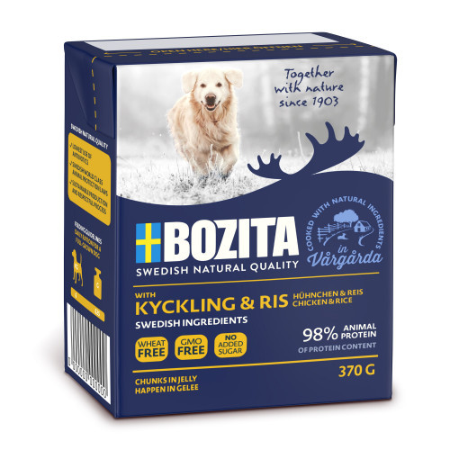 BOZITA NATURALS Nat Chicken/Rice (16-pack)