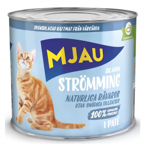 MJAU Mjau Strömming (12-pack)