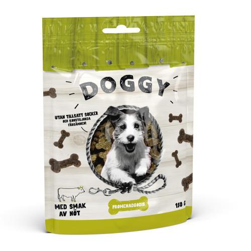 DOGGY Promenadgodis Nöt (10-pack)