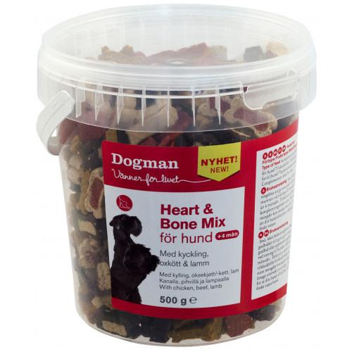 DOGMAN Heart and bone mix i hink