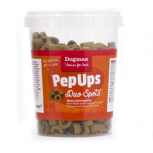 DOGMAN Pep Ups Duo Spots 3-smak (8-pack)