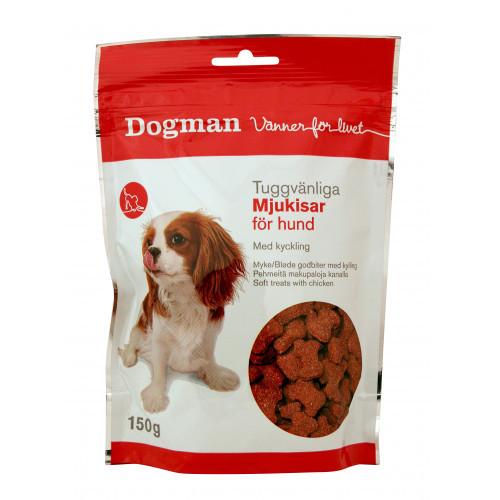 DOGMAN Tuggvänliga mjukisar för hund (10-pack)
