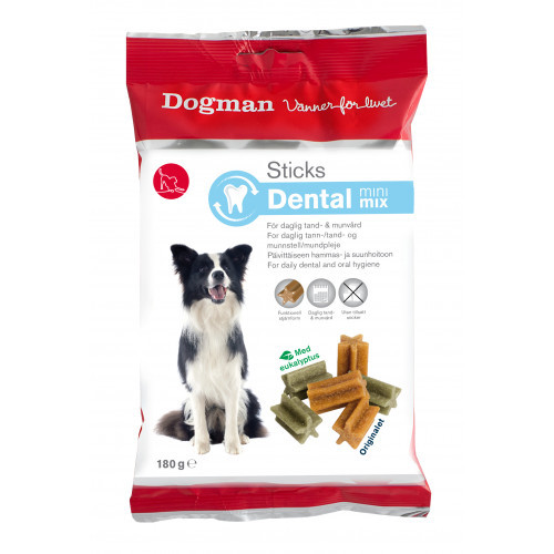 DOGMAN Sticks Dental mini mix (9-pack)