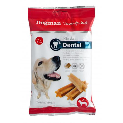 DOGMAN Sticks Dental 7st (12-pack)