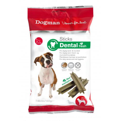 DOGMAN Sticks Dental Fresh 7-p (12-pack)