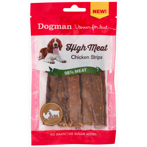 DOGMAN High meat Chicken Strips (12-pack)
