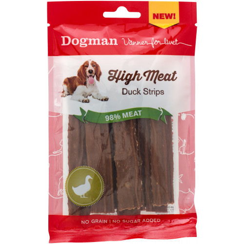 DOGMAN High meat Duck strips (12-pack)