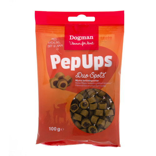 DOGMAN Pep Ups Duo Spots 3-smak (10-pack)