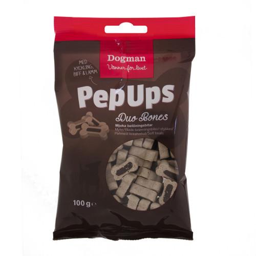 DOGMAN Pep Ups Duo Bones 3-smak (10-pack)