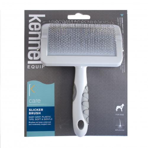 KENNEL EQUIP CARE Soft slicker brush