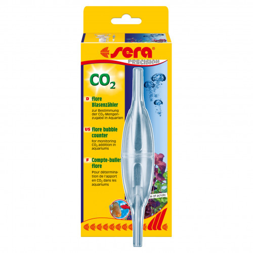 SERA Flore CO2 bubble counter