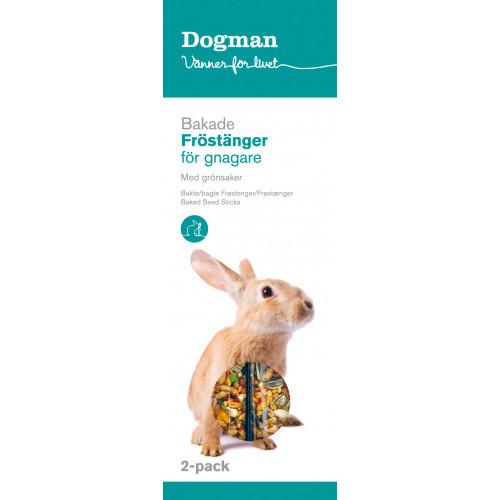 DOGMAN Fröstänger grönsaker 2-p (8-pack)
