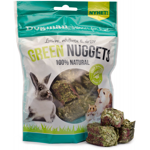 DOGMAN Green Nuggets Natural (10-pack)