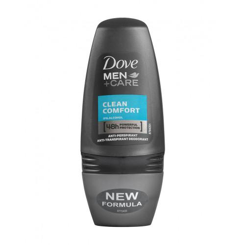 Dove Men+Care Deodorant Roll-on Clean Comfort