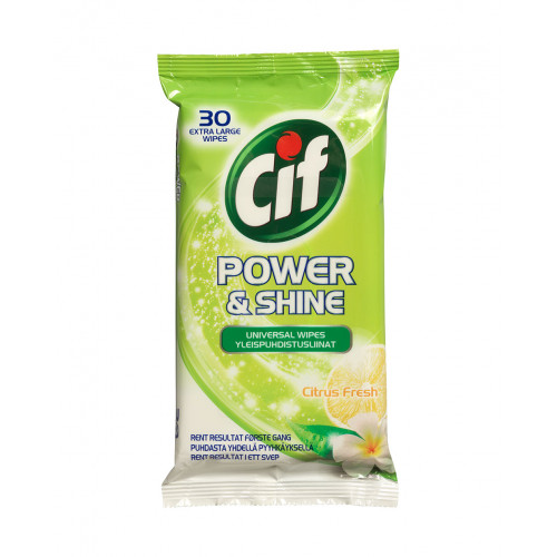 CIF Universal Wipes Citrus Fresh 30P