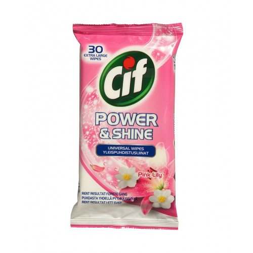 CIF Universal Wipes Pink Lily 30P
