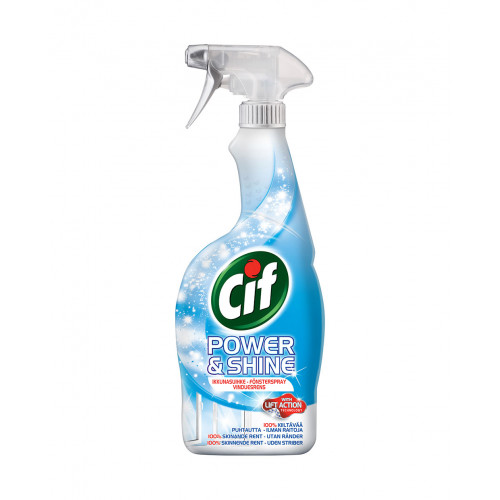 CIF Power & Shine Fönsterspray 750ml