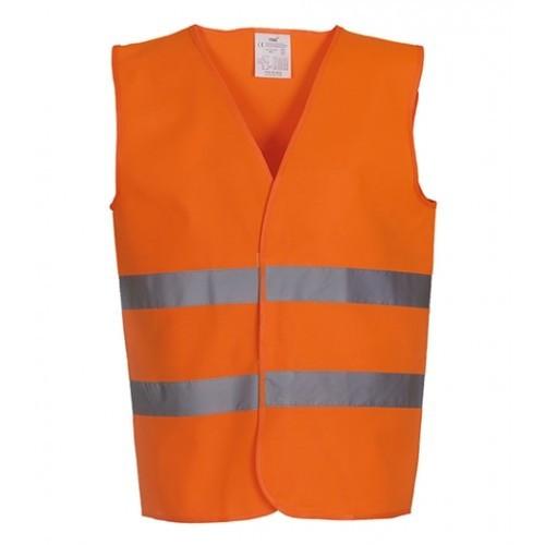 Yoko Hi-vis 2-band waistcoat Orange