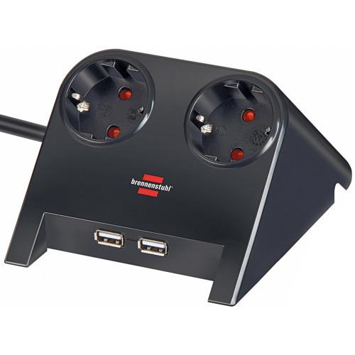 Brennenstuhl DesktopPower USB-charger 2v Sv