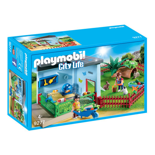 Playmobil City Life Smådjurspensionat
