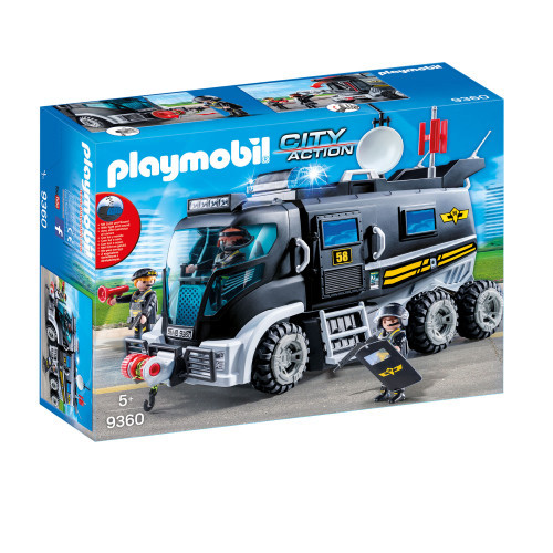 Playmobil City Action Insatsfordon Ljus.