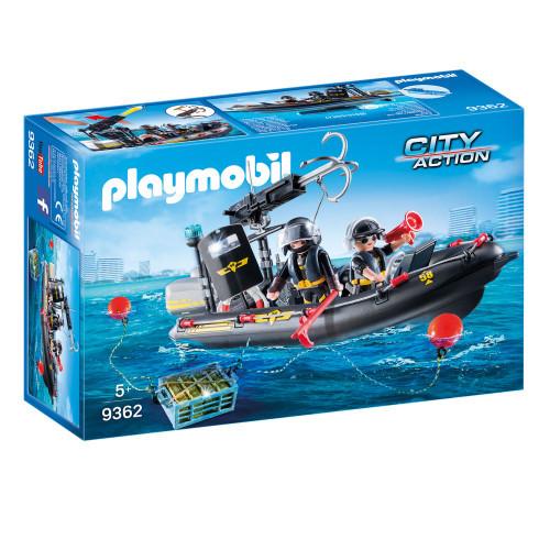 Playmobil City Action Insatsbåt