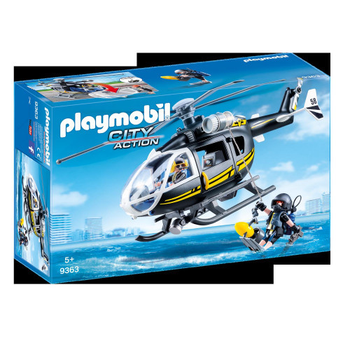 Playmobil City Action Insatshelikopter