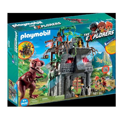 Playmobil The Explorers Basläger m T-Rex