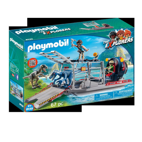Playmobil The Explorers Propellorbåt
