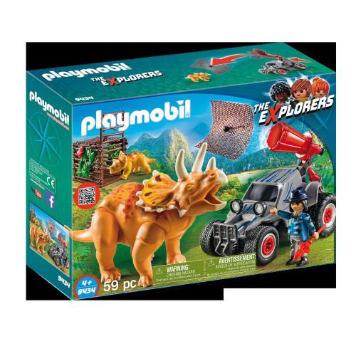 Playmobil The Explorers Jeep med Dinos.