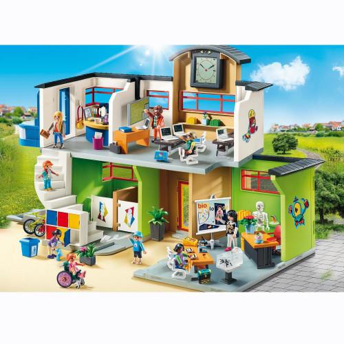 Playmobil City Life Inredd skolbyggnad