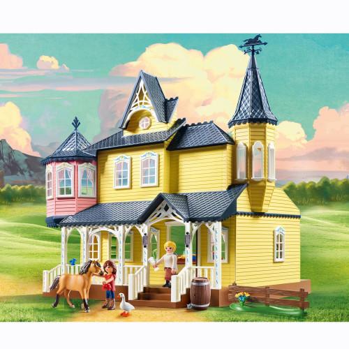 Playmobil Spirit Luckys lyckliga hem