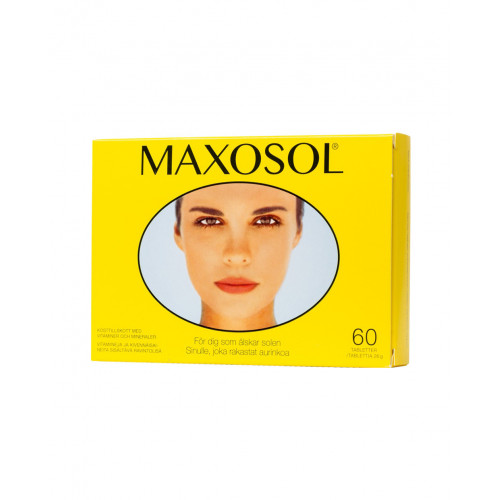 Bringwell Maxosol vitamintillskott 60 tabletter
