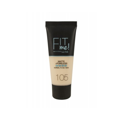 Maybelline  Fit Me Matte + Poreless Foundation 30ml - 105 Natural Ivory