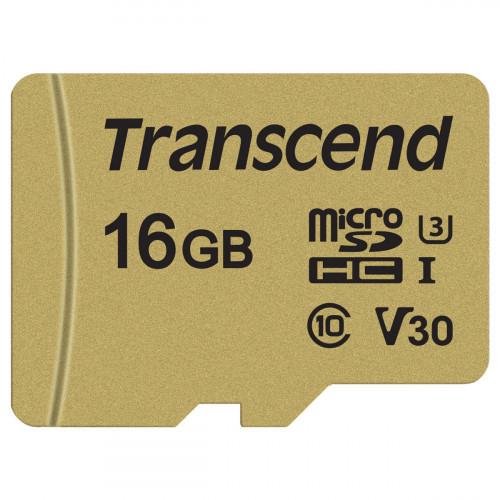 Transcend microSDHC  16GB U3 (R95/W60)