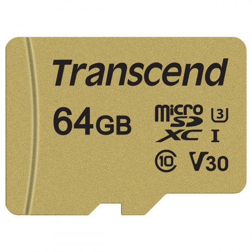 Transcend microSDXC  64GB U3 (R95/W60)
