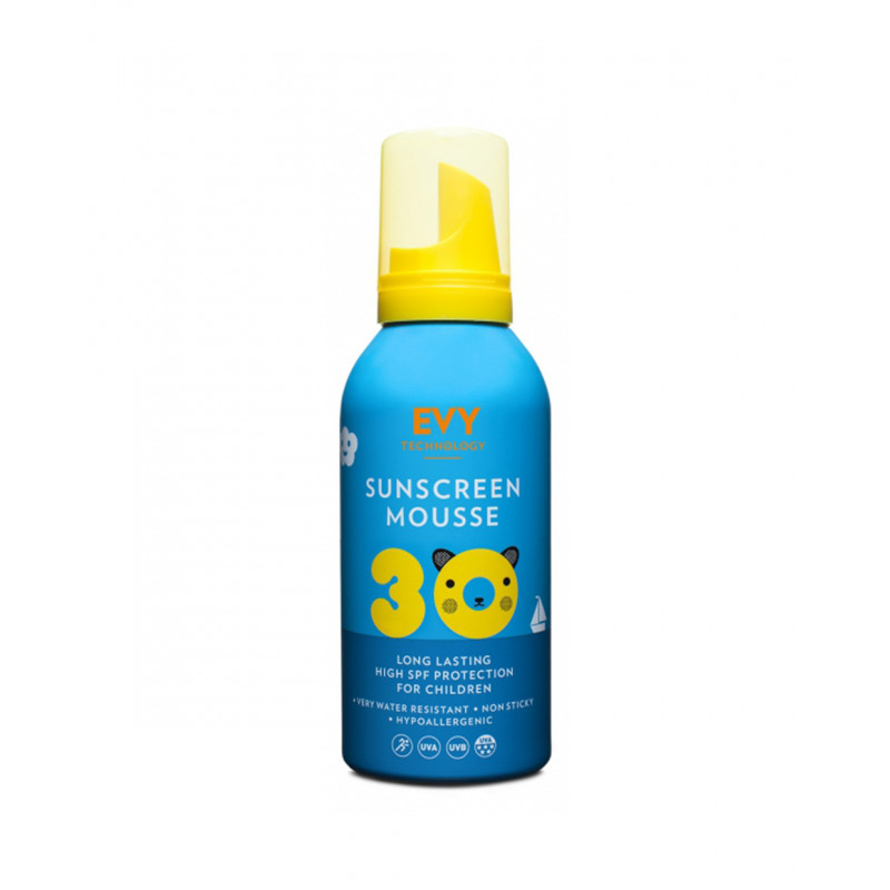 EVY Kids Sunscreen Mousse SPF 30
