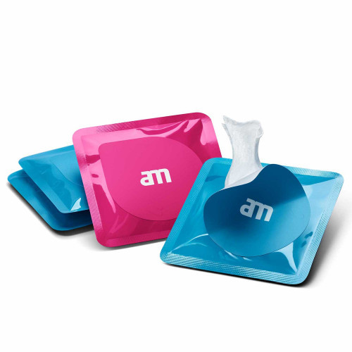 AM Getclean Wipes 3 x 6-pack Blue