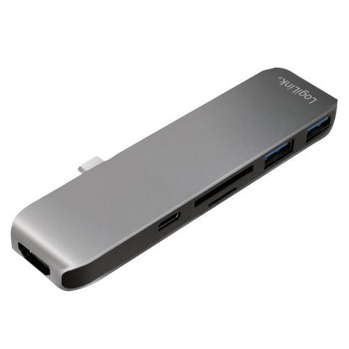 LogiLink USB-C 6-in1 Hub